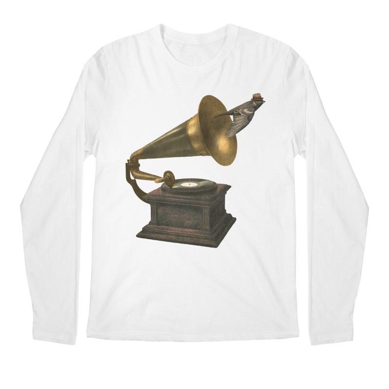 Vintage Songbird Men's Longsleeve T-Shirt by terryfan