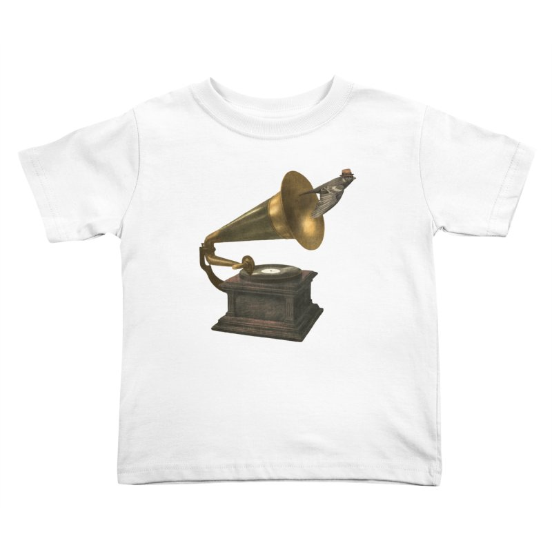 Vintage Songbird Kids Toddler T-Shirt by terryfan