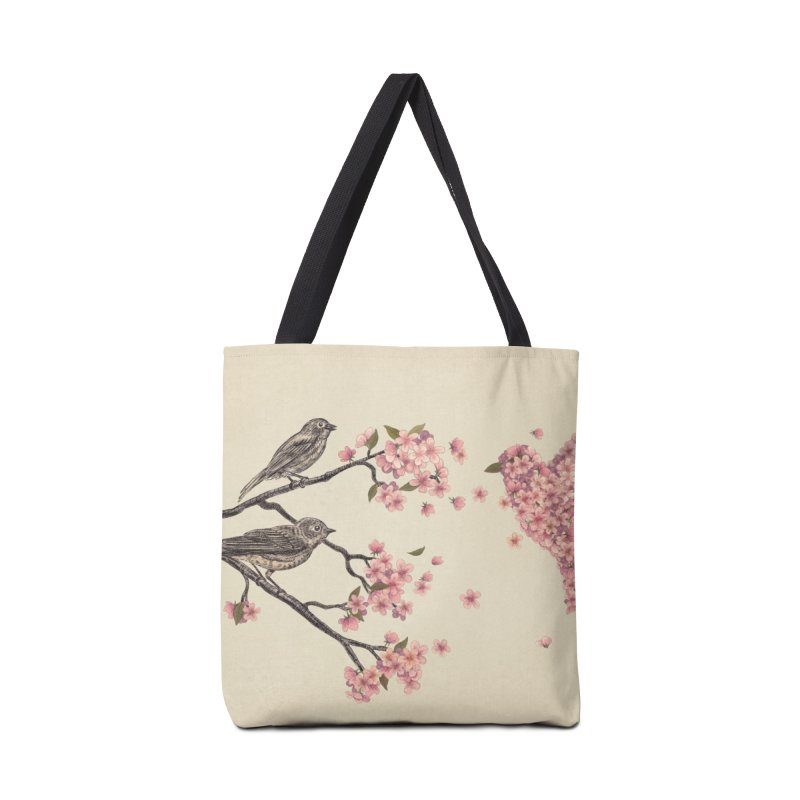Blossom Bird Accessories Bag by terryfan