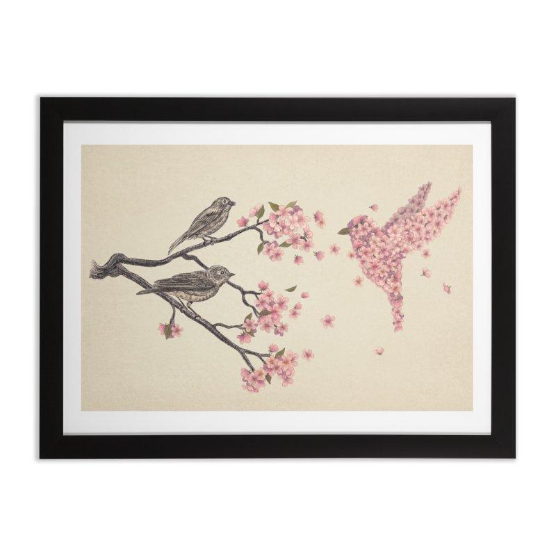 Blossom Bird Home Framed Fine Art Print by terryfan