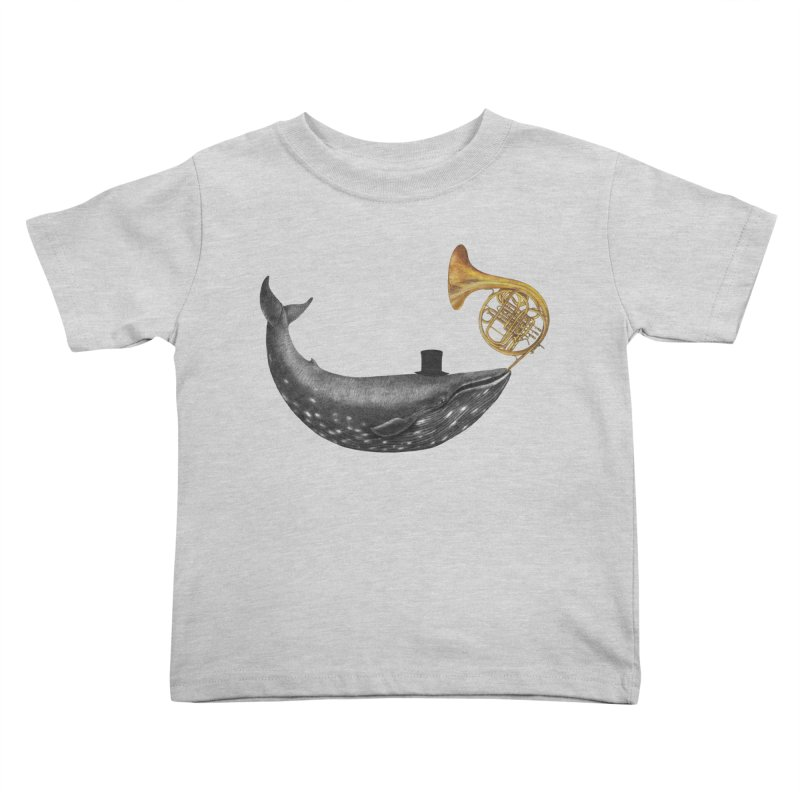 Whale Song Kids Toddler T-Shirt by terryfan