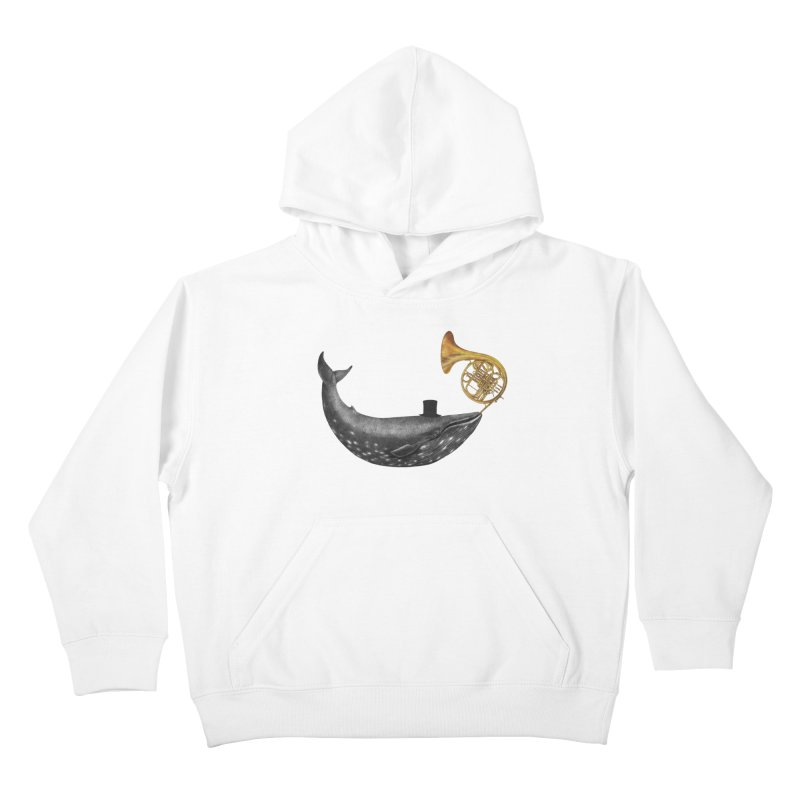 Whale Song Kids Pullover Hoody by terryfan