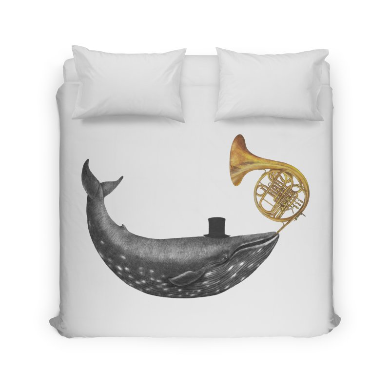 Whale Song Home Duvet by terryfan