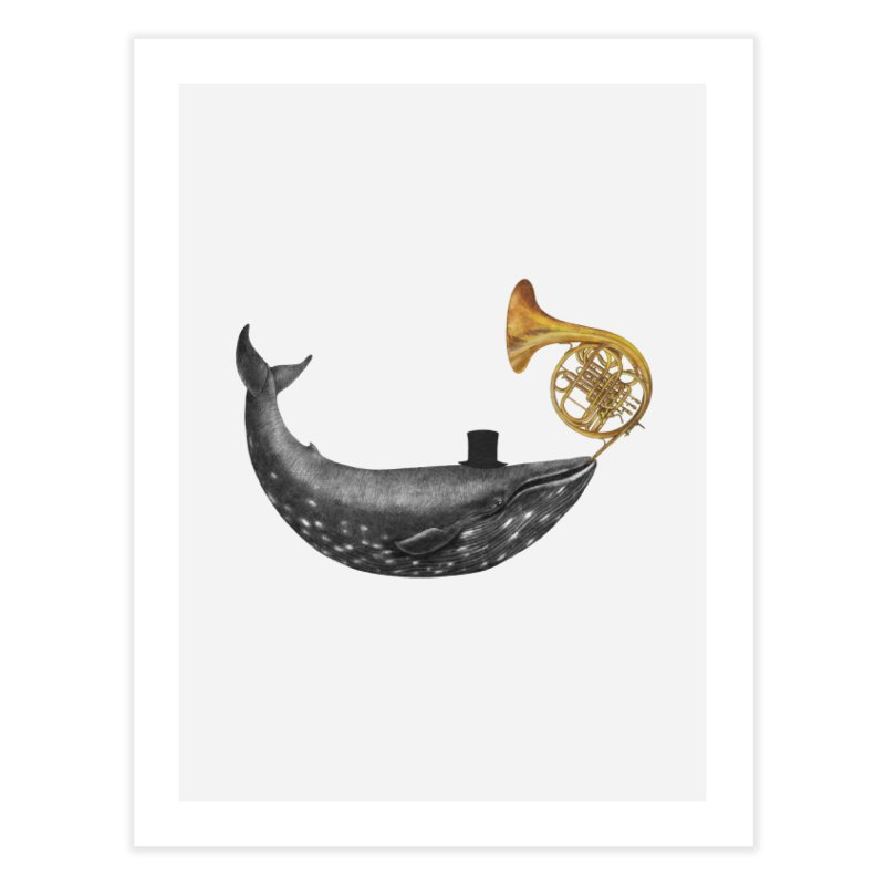 Whale Song Home Fine Art Print by terryfan