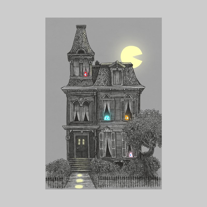 Haunted by the 80's Home Framed Fine Art Print by terryfan