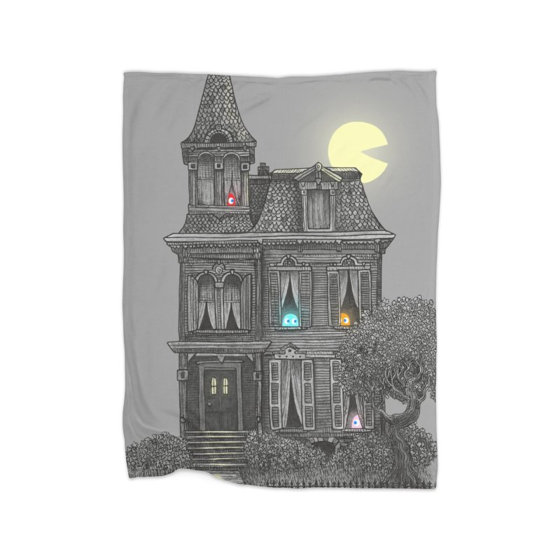 Haunted by the 80's Home Blanket by terryfan