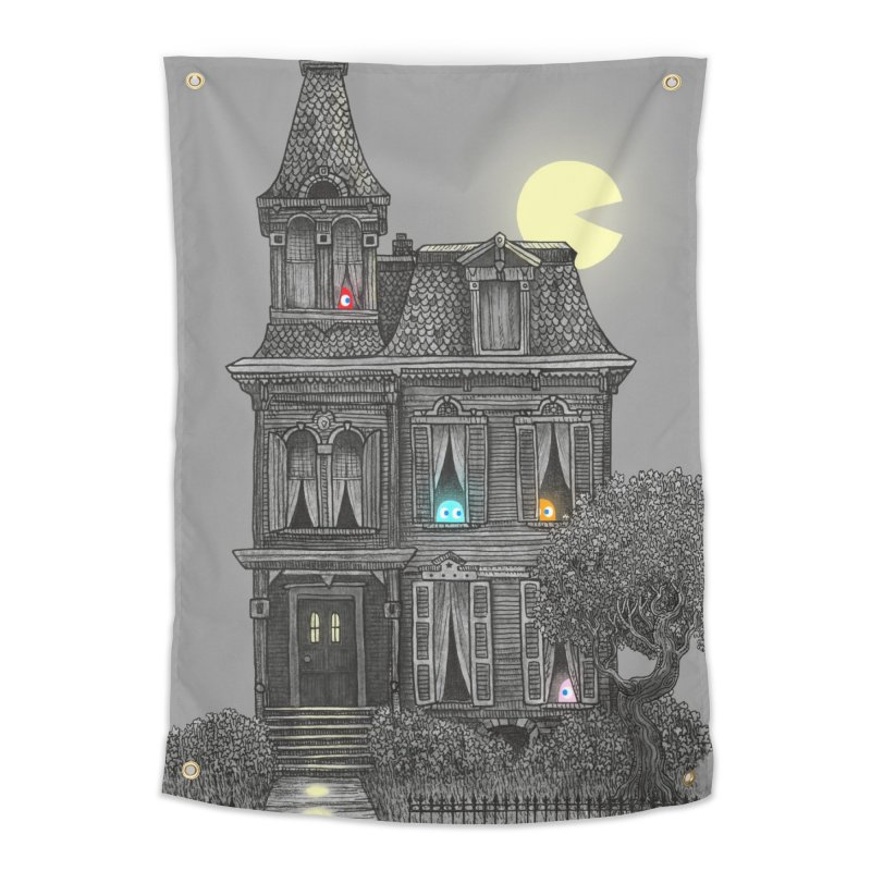 Haunted by the 80's Home Tapestry by terryfan
