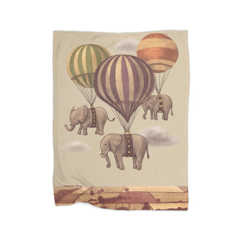 Flight of the Elephant Home Blanket by terryfan