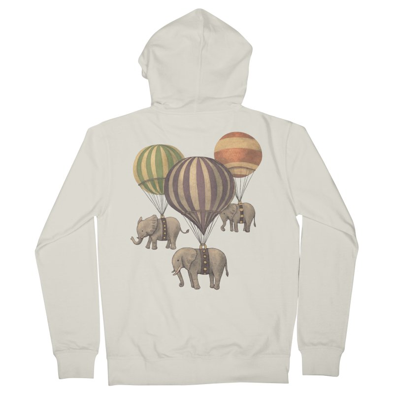 Flight of the Elephant Women's French Terry Zip-Up Hoody by terryfan