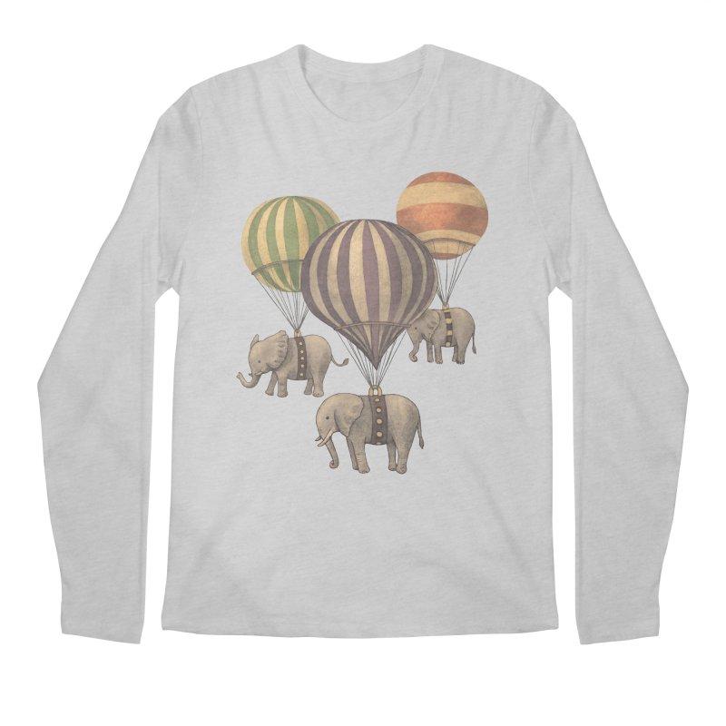 Flight of the Elephant Men's Longsleeve T-Shirt by terryfan