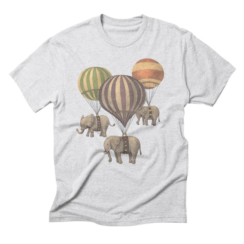 Flight of the Elephant Men's Triblend T-Shirt by terryfan