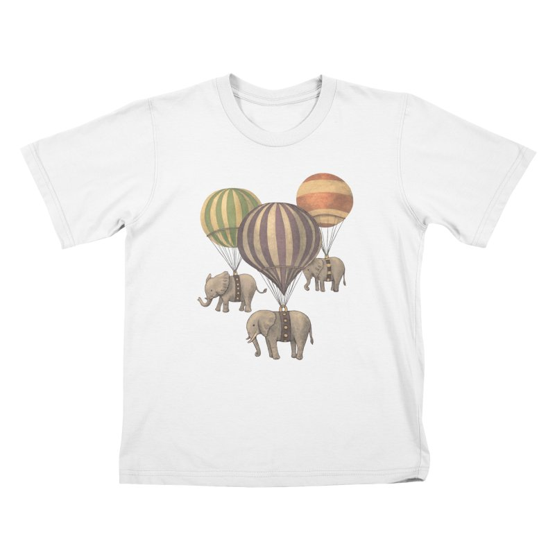 Flight of the Elephant Kids T-shirt by terryfan