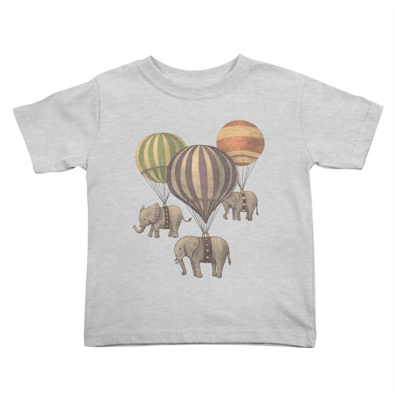 Flight of the Elephant Kids Toddler T-Shirt by terryfan