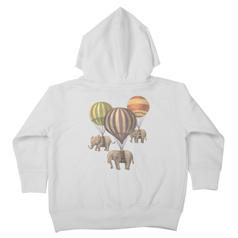 Flight of the Elephant Kids Toddler Zip-Up Hoody by terryfan