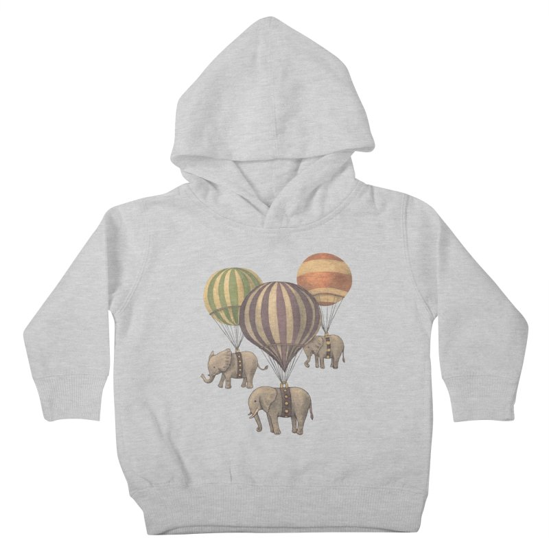 Flight of the Elephant Kids Toddler Pullover Hoody by terryfan