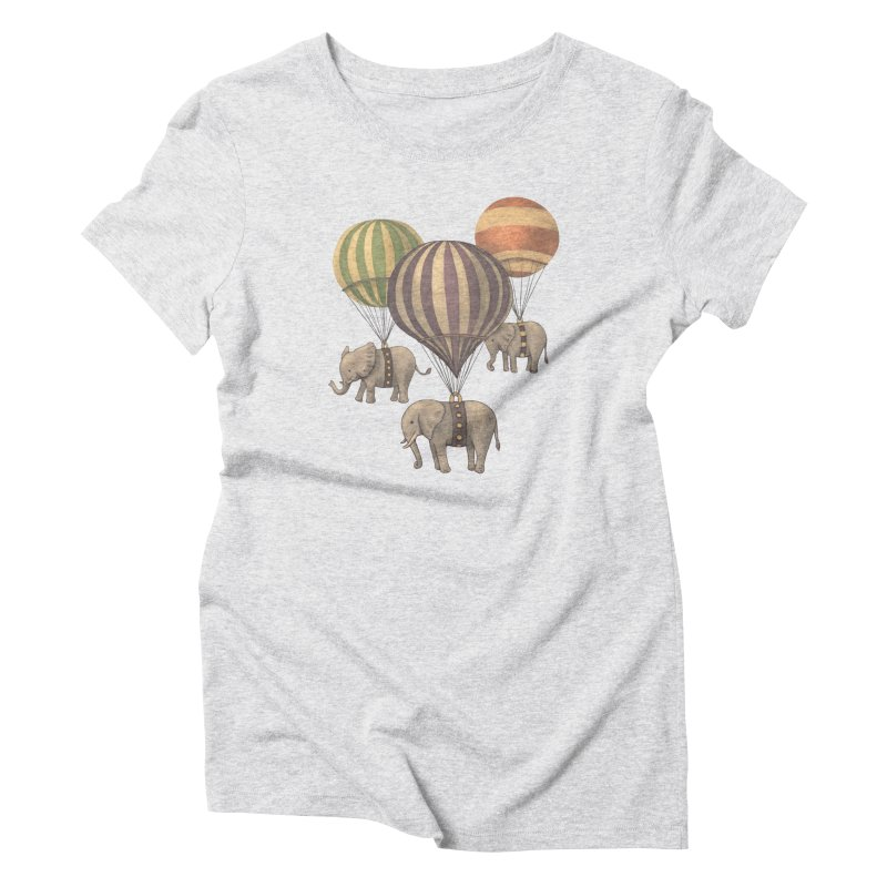 Flight of the Elephant Women's Triblend T-shirt by terryfan