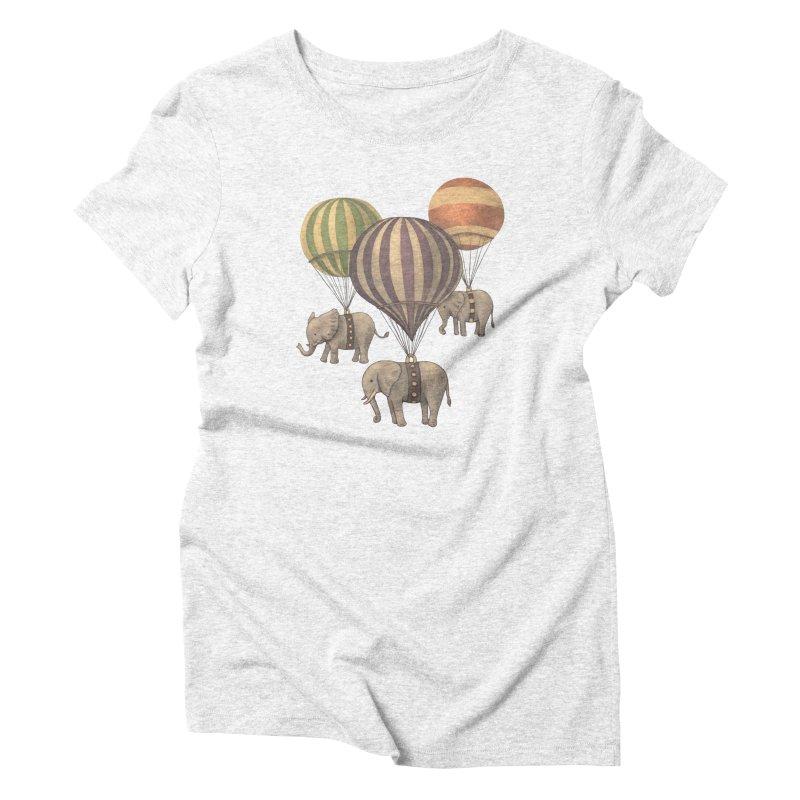 Flight of the Elephant Women's Triblend T-shirt by terryfan
