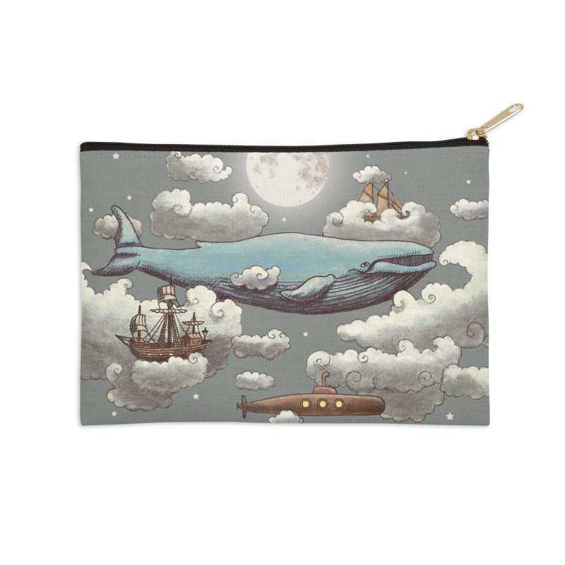 Ocean Meets Sky Accessories Zip Pouch by terryfan
