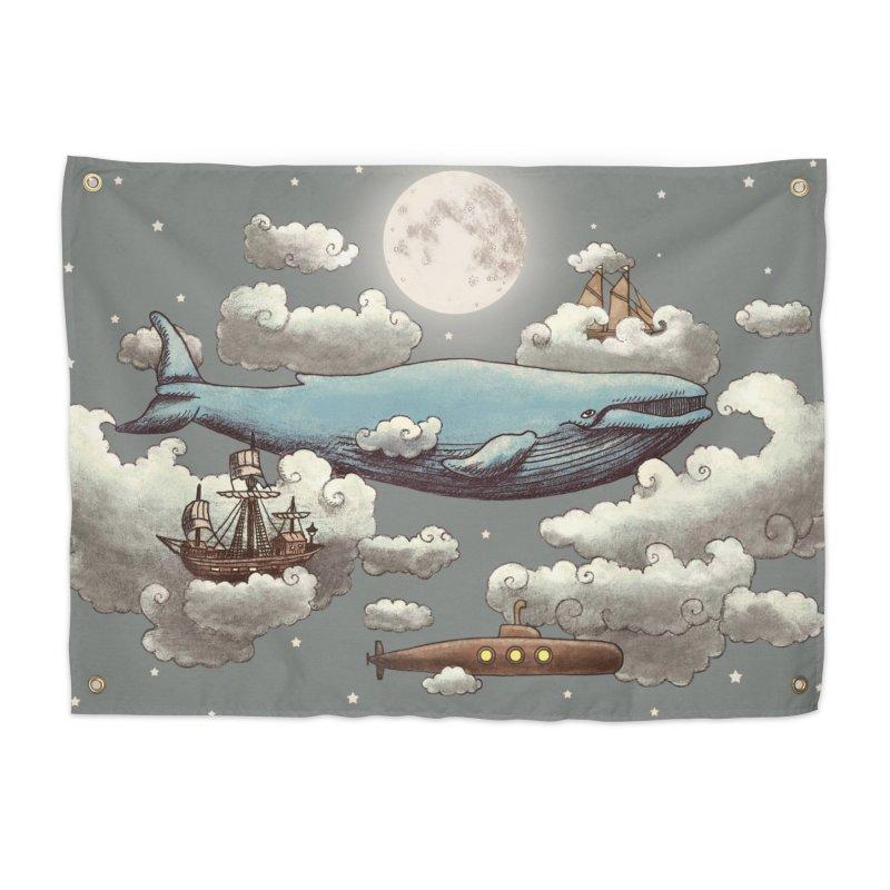 Ocean Meets Sky Home Tapestry by terryfan