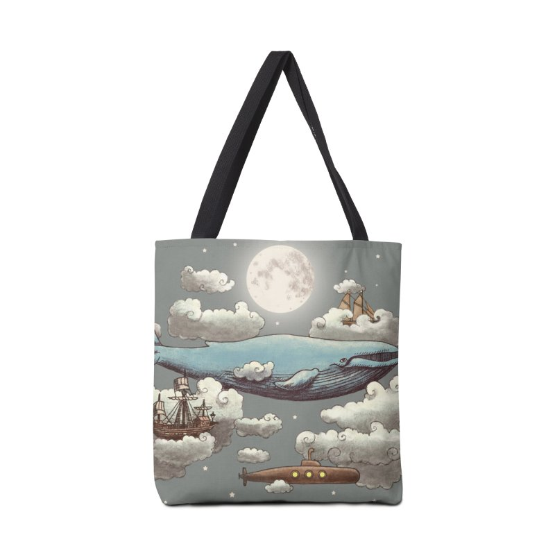 Ocean Meets Sky Accessories Bag by terryfan