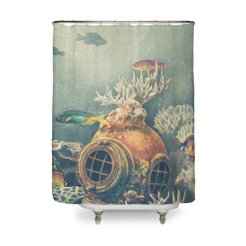 Sea Change Home Shower Curtain by terryfan