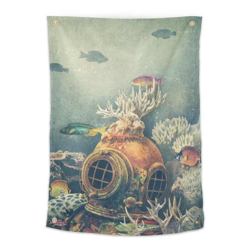 Sea Change Home Tapestry by terryfan