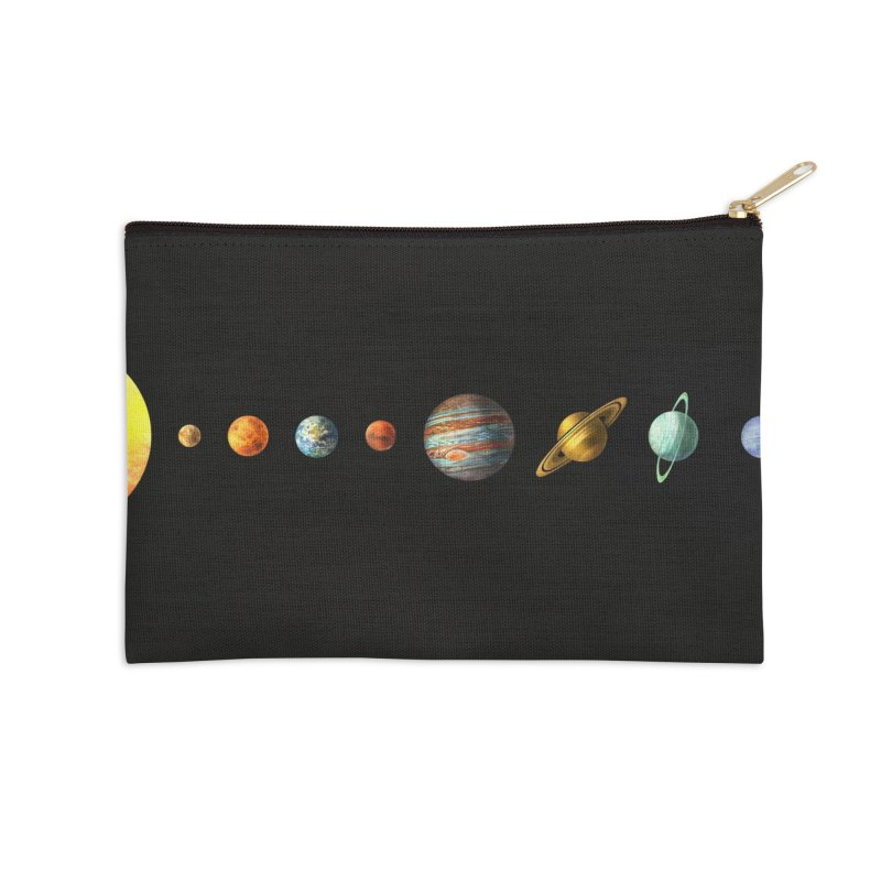 Solar System Accessories Zip Pouch by terryfan