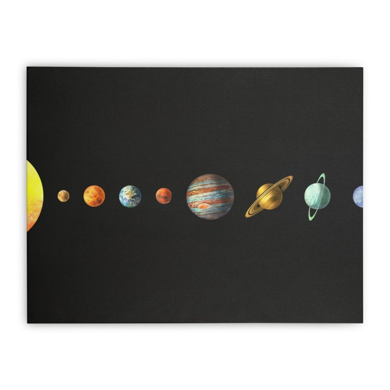 Solar System Home Stretched Canvas by terryfan