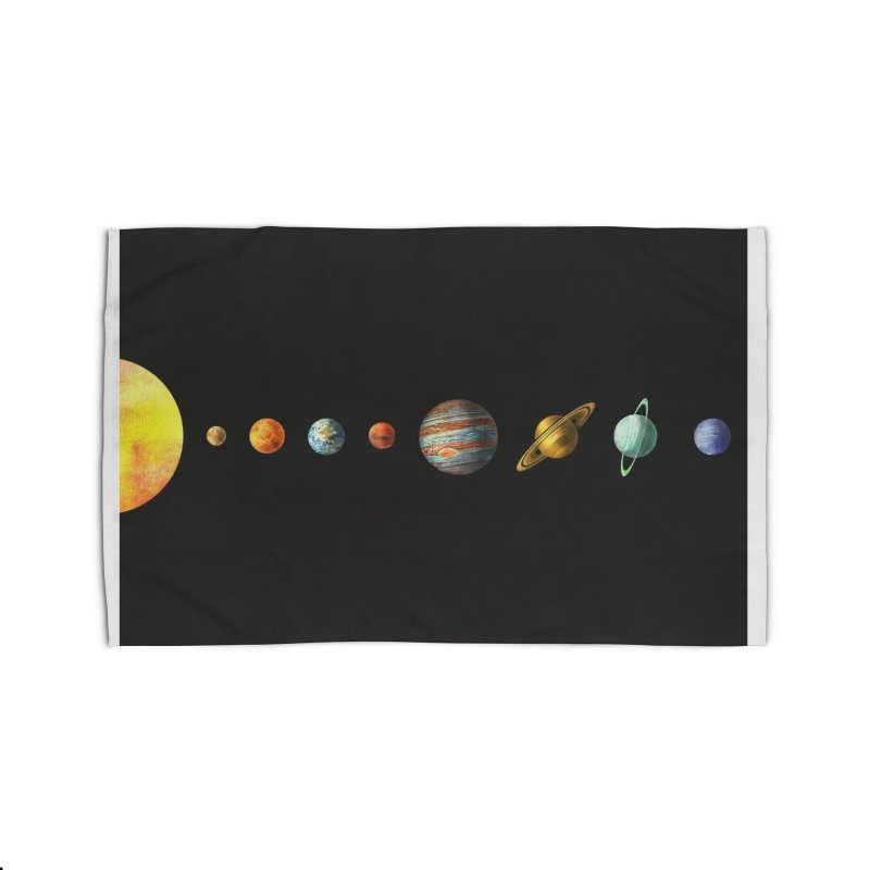 Solar System Home Rug by terryfan