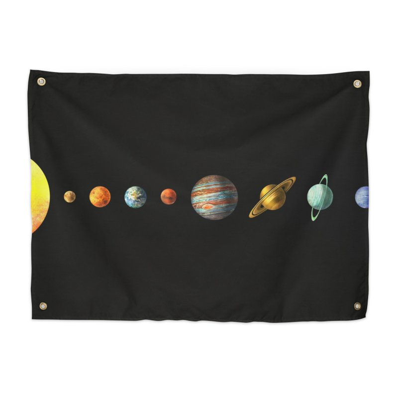 Solar System Home Tapestry by terryfan