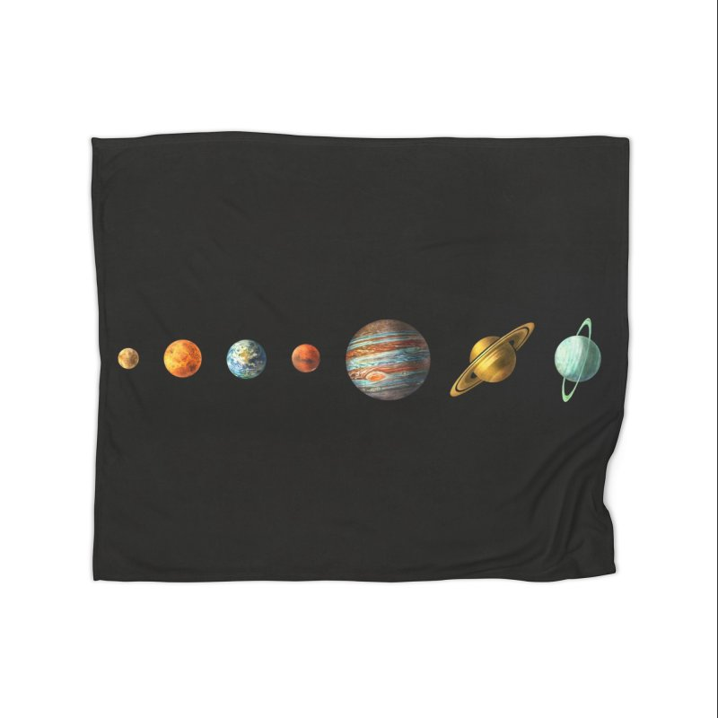 Solar System Home Blanket by terryfan
