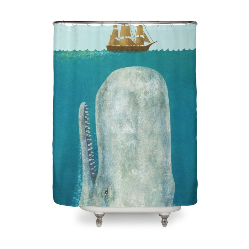 The Whale Home Shower Curtain by terryfan