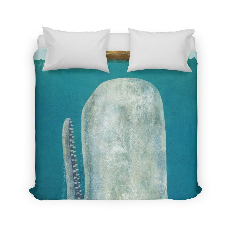 The Whale Home Duvet by terryfan