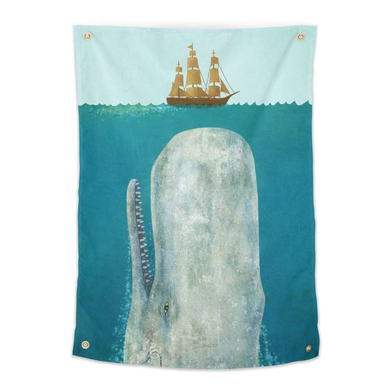The Whale Home Tapestry by terryfan