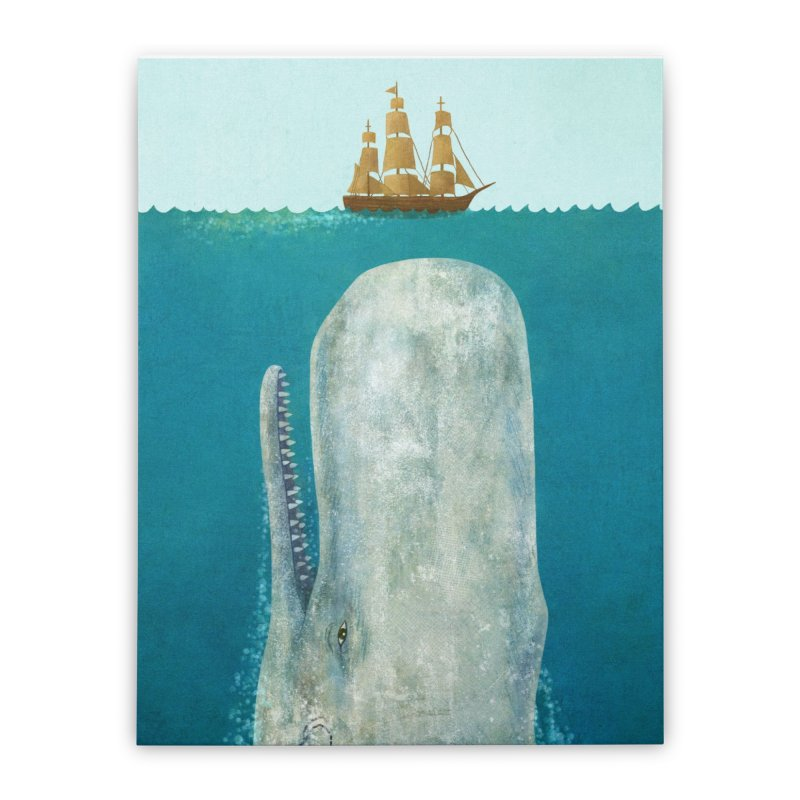 The Whale Home Stretched Canvas by terryfan