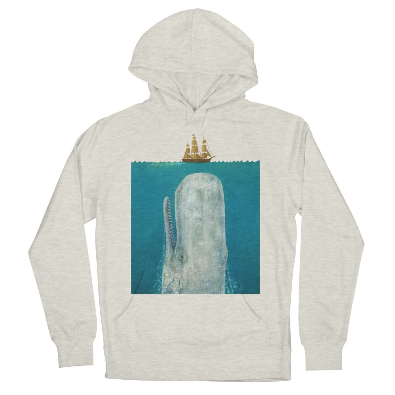 The Whale Men's Pullover Hoody by terryfan