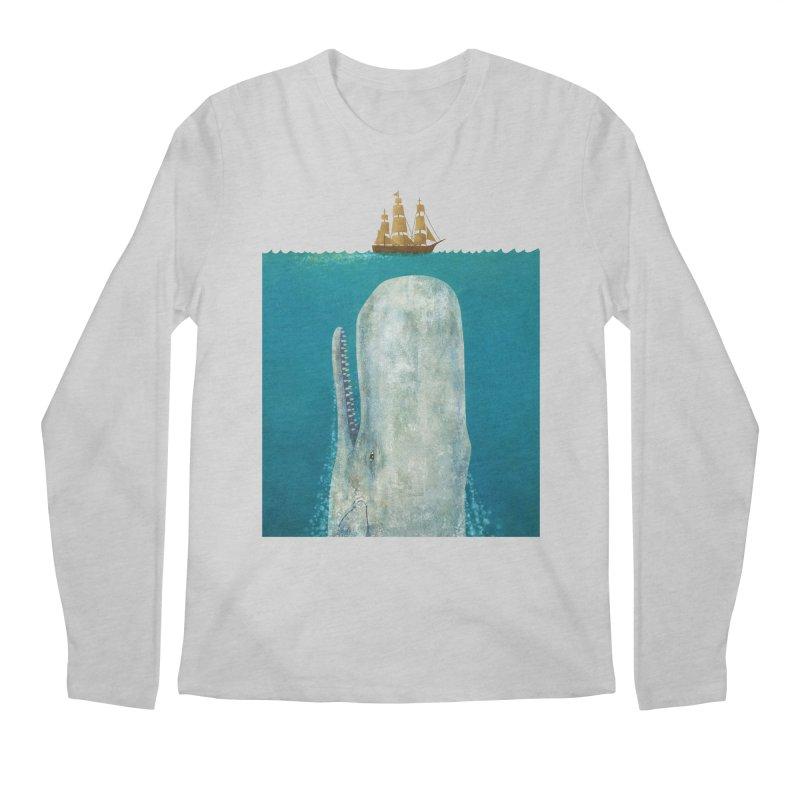 The Whale Men's Longsleeve T-Shirt by terryfan