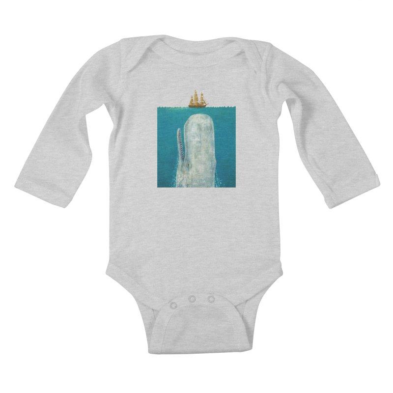 The Whale Kids Baby Longsleeve Bodysuit by terryfan