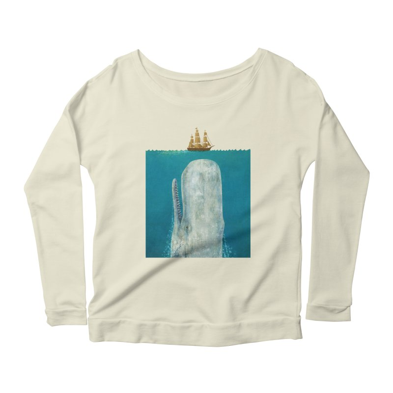 The Whale Women's Longsleeve Scoopneck  by terryfan