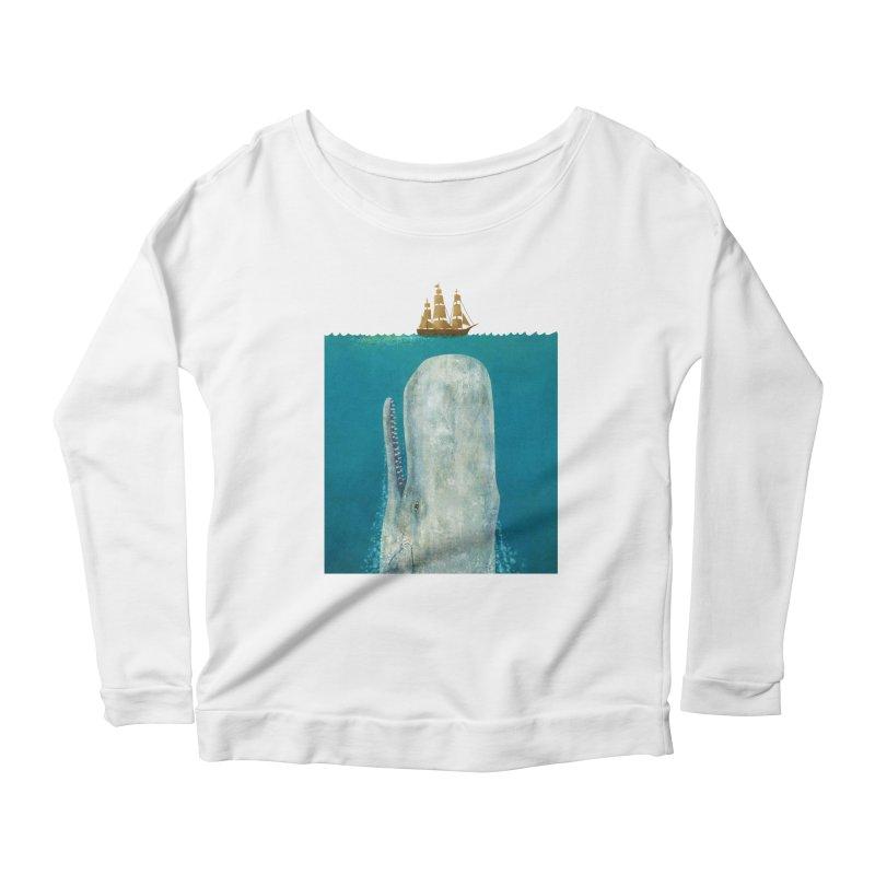 The Whale Women's Scoop Neck Longsleeve T-Shirt by terryfan