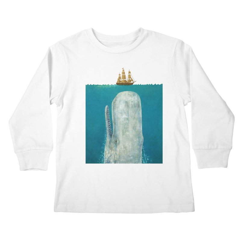The Whale Kids Longsleeve T-Shirt by terryfan
