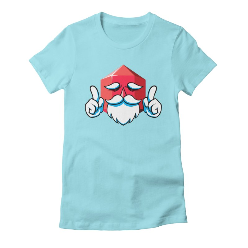 Game Master Women's Fitted T-Shirt by Shop TerryMakesStuff