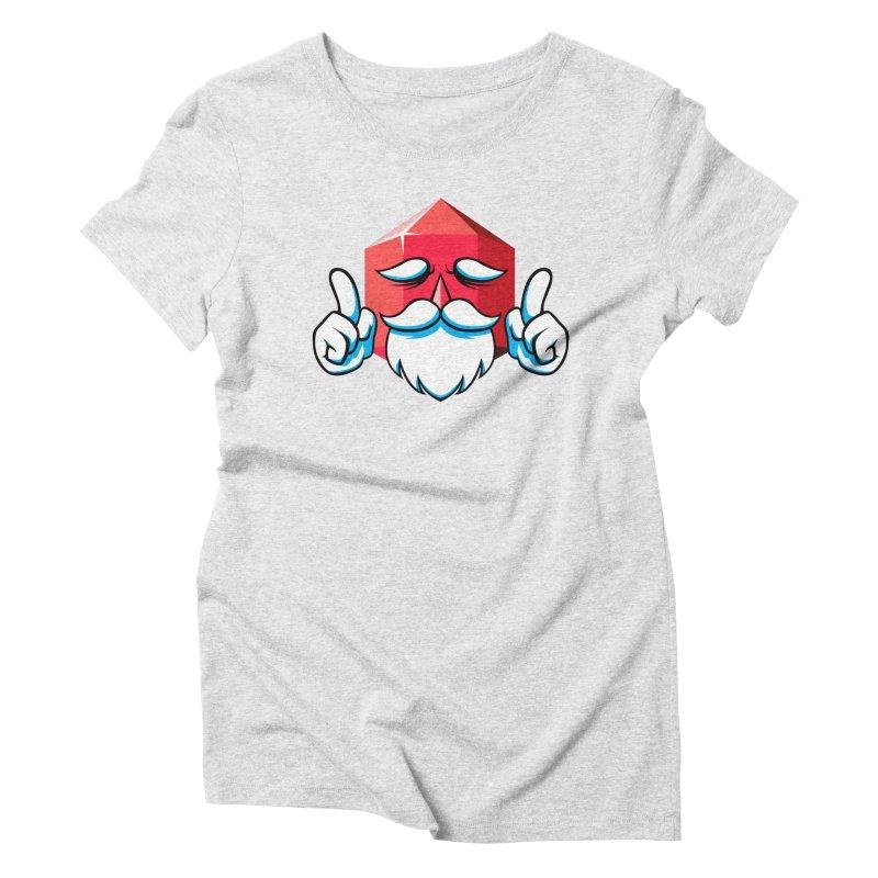 Game Master Women's Triblend T-Shirt by Shop TerryMakesStuff