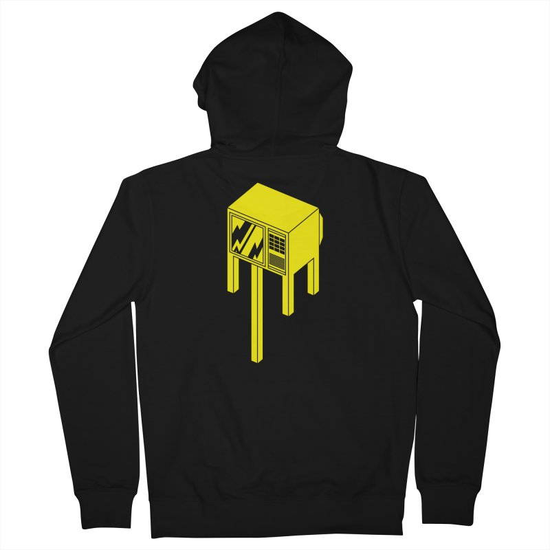 Idiot Box Men's Zip-Up Hoody by Shop TerryMakesStuff