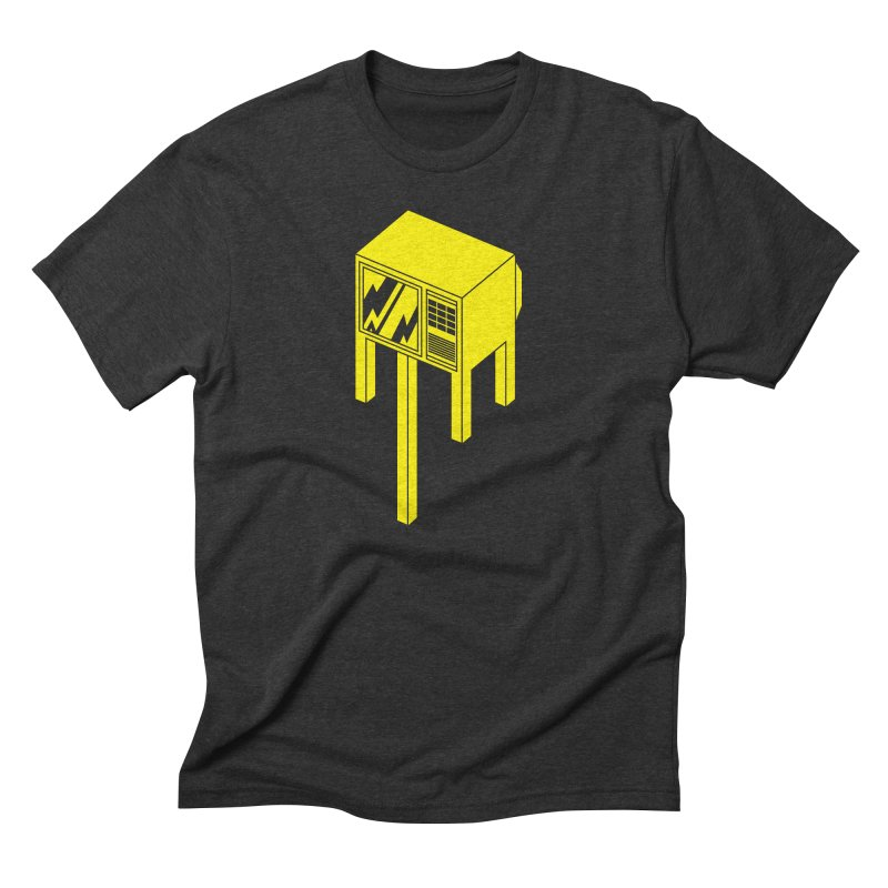 Idiot Box Men's Triblend T-Shirt by Shop TerryMakesStuff