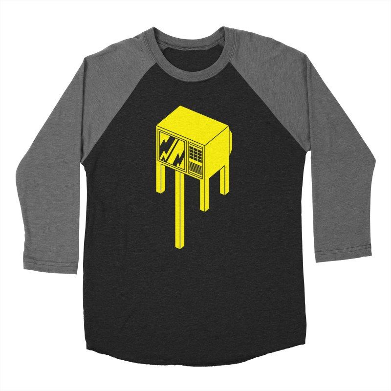 Idiot Box Women's Baseball Triblend T-Shirt by Shop TerryMakesStuff