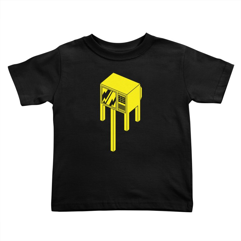 Idiot Box Kids Toddler T-Shirt by Shop TerryMakesStuff