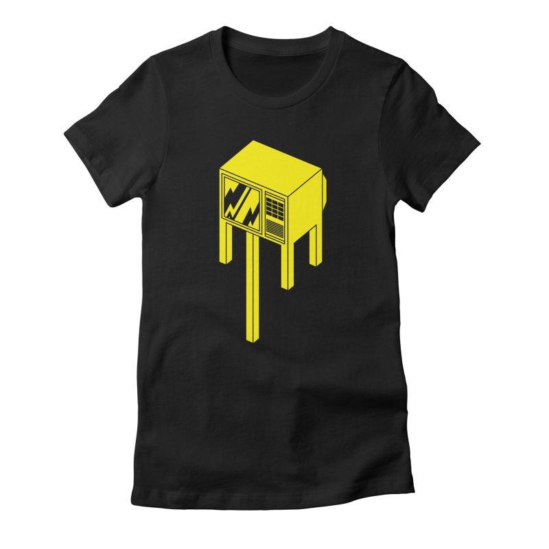 Idiot Box Women's T-Shirt by Shop TerryMakesStuff