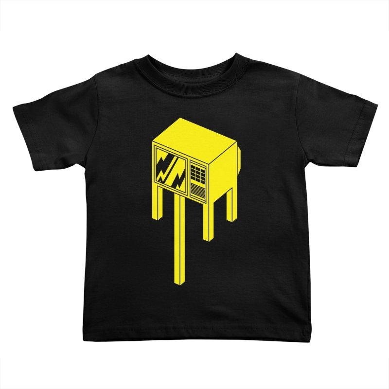 Idiot Box Kids Toddler T-Shirt by Shop TerryMakesStuff