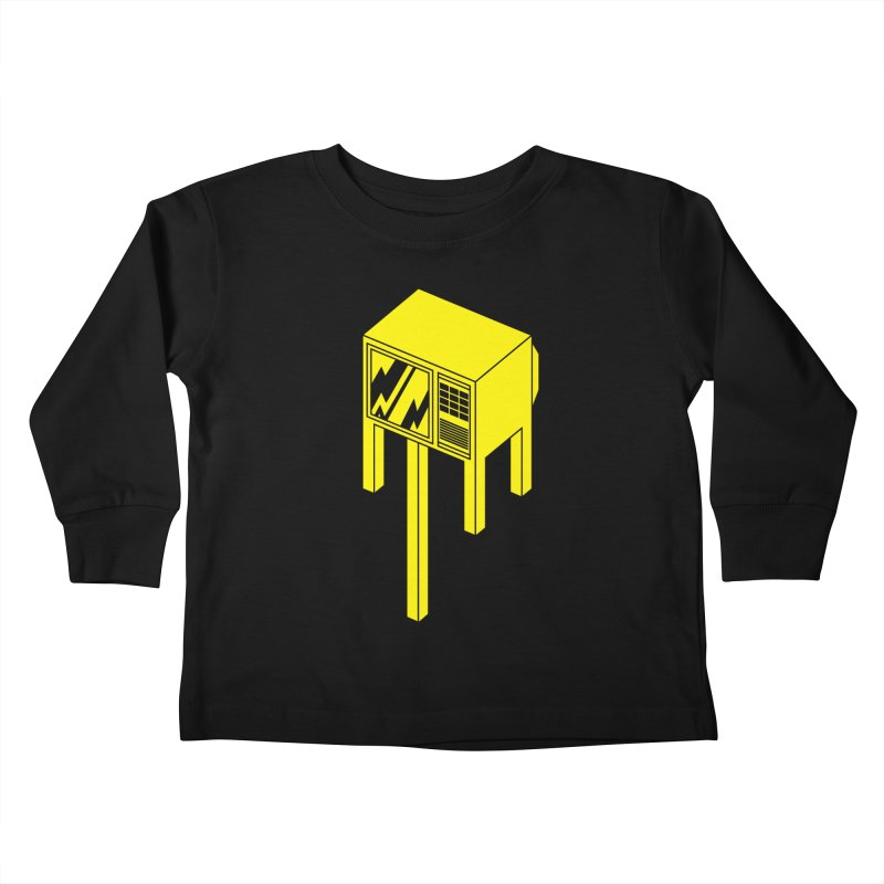 Idiot Box Kids Toddler Longsleeve T-Shirt by Shop TerryMakesStuff